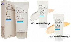 СС-крем осветляющий 3W CLINIC Crystal Whitening CC Cream SPF50+/PA+++ #1
