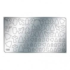 Freedecor, Металлизированные наклейки №195, серебро