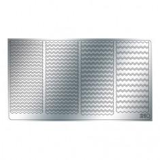 Freedecor, Металлизированные наклейки №210, серебро