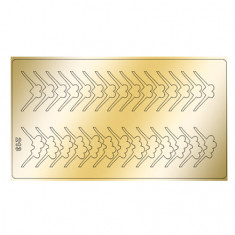 Freedecor, Металлизированные наклейки №213, золото