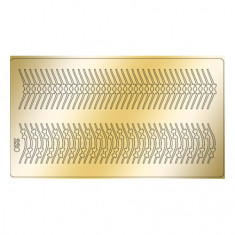 Freedecor, Металлизированные наклейки №220, золото
