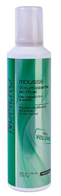 BRELIL PROFESSIONAL Мусс с экстрактом ягод асаи для придания объема волосам / Numero 250 мл