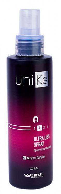 BRELIL PROFESSIONAL Спрей с ультраразглаживающим эффектом / UniKe 150 мл