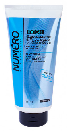 BRELIL PROFESSIONAL Маска с оливковым маслом для вьющихся и волнистых волос / Numero 300 мл