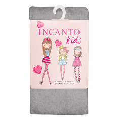Детские колготки INCANTO KIDS Grigio melange 128-134