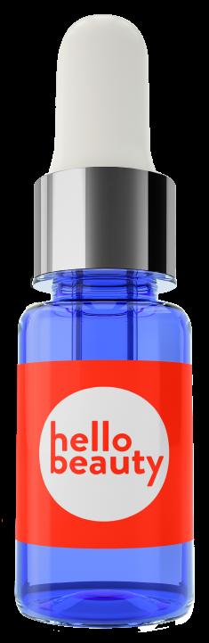 HELLO BEAUTY Сыворотка перед макияжем с экстрактом красной водоросли, подготавливает и смягчает кожу 10 мл