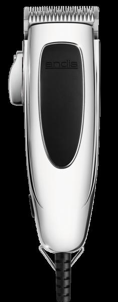 ANDIS Машинка для стрижки волос PM-4 Trendsetter 0.5 - 2.4 мм, сетевая, пивот, 9 насадок, 15 W