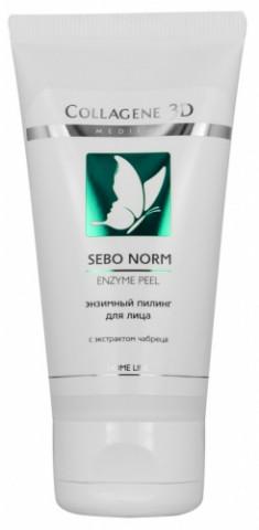 MEDICAL COLLAGENE 3D Гель-пилинг энзимный для лица / SEBO NORM 50 мл