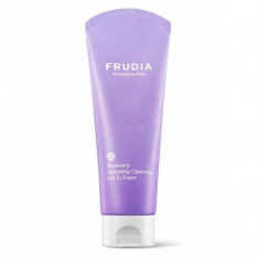 увлажняющая пенка для умывания с черникой frudia blueberry hydrating cleansing gel to foam