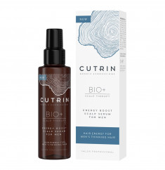 CUTRIN Сыворотка-бустер для укрепления волос для мужчин / BIO+ ENERGY BOOST 100 мл