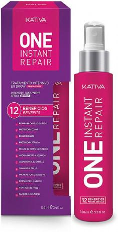 KATIVA Уход-спрей мультифункциональный 12 в 1 с кератином для всех типов волос / KERATINA 100 мл