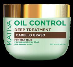 KATIVA Маска интенсивный уход для жирных волос Контроль / OIL CONTROL 250 мл