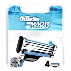 Gillette сменные кассеты Mach3 Start N4