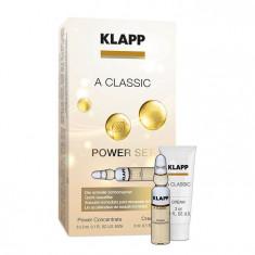 Klapp A CLASSIC Power Set Мини-набор Энергия витамина A: ампульный концентрат+дневной крем