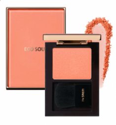 Румяна THE SAEM Eco Soul Luxe Blusher CR01 Maison Coral