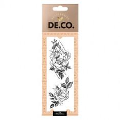 Татуировка для тела DE.CO. REAL TATTOO by Miami tattoos переводная Geometric rose