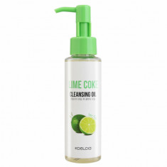 гидрофильное масло с экстрактом лайма (100 мл) koelcia lime coke cleansing oil