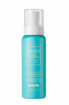 BANDI Спрей-размягчитель огрубевшей кожи, интенсивный для педикюра / VITAL BOOSTER STRONG 150 мл