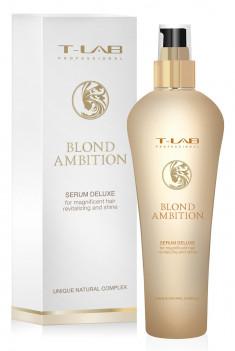 T-LAB PROFESSIONAL Сыворотка несмываемая для ревитализации и блеска осветленных волос / Blond Ambition 130 мл