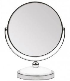 TITANIA Зеркало настольное двойное D-12 см, 5-кратное увеличение (1596)