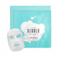 маска пузырьковая let me skin ultra bubble o2 mask