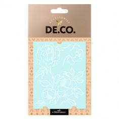 Татуировка для тела DE.CO. WHITE TATTOO by Miami tattoos переводная Flower Lace