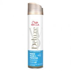 Лак для волос WELLA DELUXE WONDER VOLUME PROTECTION Суперсильная фиксация 250 мл