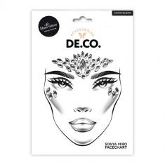 Кристаллы для лица и тела DE.CO. FACE CRYSTALS by Miami tattoos Snow Queen