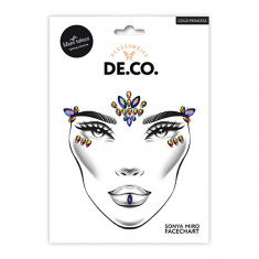 Кристаллы для лица и тела DE.CO. FACE CRYSTALS by Miami tattoos Cold Princess