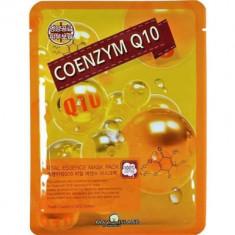 Маска тканевая с коэнзимом May Island Real Essence Coenzyme Q10 Mask Pack 25мл