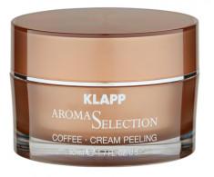 KLAPP Крем-пилинг для лица Кофе / AROMA SELECTION 50 мл