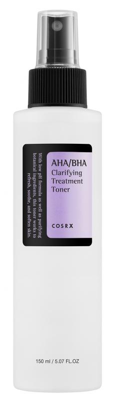 COSRX Тонер лечебный с AHA-BHA кислотами / AHA-BHA Clarifyiing Treatment Toner 150 мл