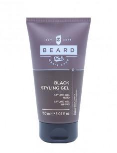 KAYPRO Гель черный для укладки волос / BEARD CLUB 150 мл