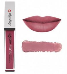 Помада губная жидкая матовая SEXY LIPS NUDE matte тон #3 Innovator Cosmetics