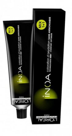 Краска для волос без аммиака L'Oréal Professionnel Inoa ODS2 7.31 Блондин золотистый пепельный 60мл