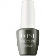 Гель лак для ногтей OPI GelColor Things I've seen in aber-green 15 мл