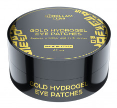 NOLLAM LAB Патчи гидрогелевые золотые для глаз / MI DERMA 60 шт