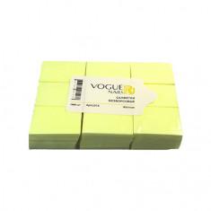 Vogue Nails, Безворсовые салфетки, желтые, 450 шт.