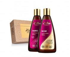ZEITUN Набор подарочный Натуральный эффект ламинирования (шампунь 250 мл, бальзам 250 мл)