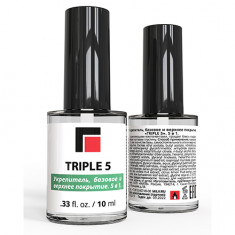 Milv, Cредство для ухода за ногтями «Triple 5» 5 in 1, 10 мл