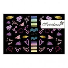 Freedecor, Слайдер-дизайн «Аэрография» №71