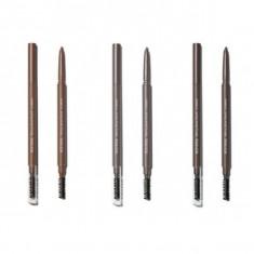 карандаш для бровей the saem eco soul skinny brow pencil