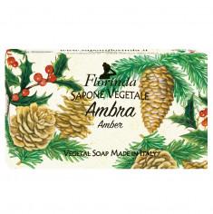 FLORINDA Мыло растительное, амбра / Ambra 100 г