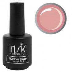 IRISK PROFESSIONAL База каучуковая камуфлирующая для ногтей, розовая / Rubber Base Cover Pink 18 мл