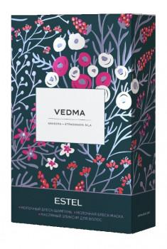 ESTEL PROFESSIONAL Набор для волос (шампунь 250 мл, маска 200 мл, масло-эликсир 50 мл) / VEDMA