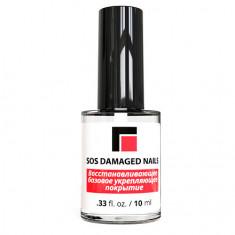 Milv, Укрепитель «SOS Damaged Nails», 10 мл