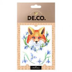 Татуировка для тела DE.CO. WATERCOLOR STORY by Miami tattoos переводная Fox