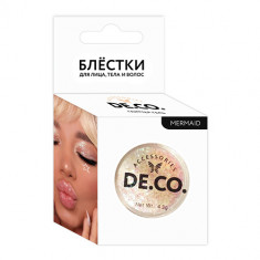 Блестки для лица, тела и волос DE.CO. by Miami tattoos Mermaid
