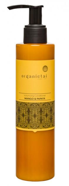 ORGANIC TAI Кондиционер для объема волос Манго и папайя / HOME SPA 200 мл