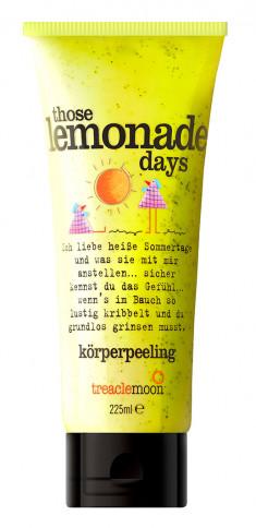 TREACLEMOON Скраб для тела Домашний лимонад / Those lemonade days Body scrub 225 мл